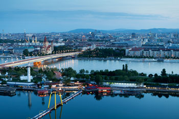 Vienna Austria skyline